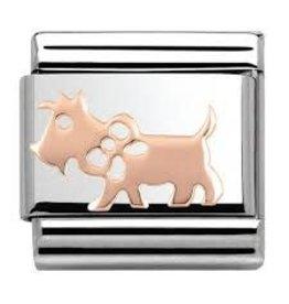 Nomination Nomination- 430104-10- Link Rosékleurig Classic SYMBOLS - Dog