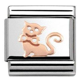 Nomination Nomination- 430104-11- Link Rosékleurig Classic SYMBOLS - Cat
