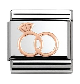 Nomination Nomination- 430104-13- Link Rosékleurig Classic SYMBOLS - Marriage Rings