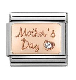 Nomination Nomination- 430316-01- Link Rosékleurig Classic ENGRAVED - Mothers Day