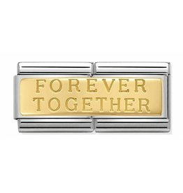 Nomination Nomination - 030710/02 - Link Classic DOUBLE ENGRAVED - Forever Together