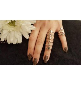 Imotionals Imotionals Alfabet Ring Zilver
