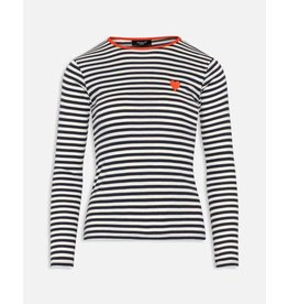 Sisters Point Sisters Point Hust-Long Sleeve Navy/Cream