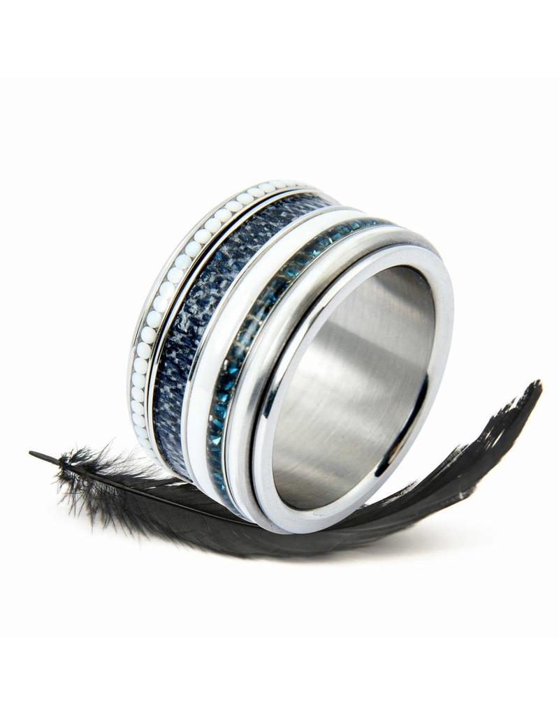 iXXXi Jewelry iXXXi Jewelry Combi Ring 207