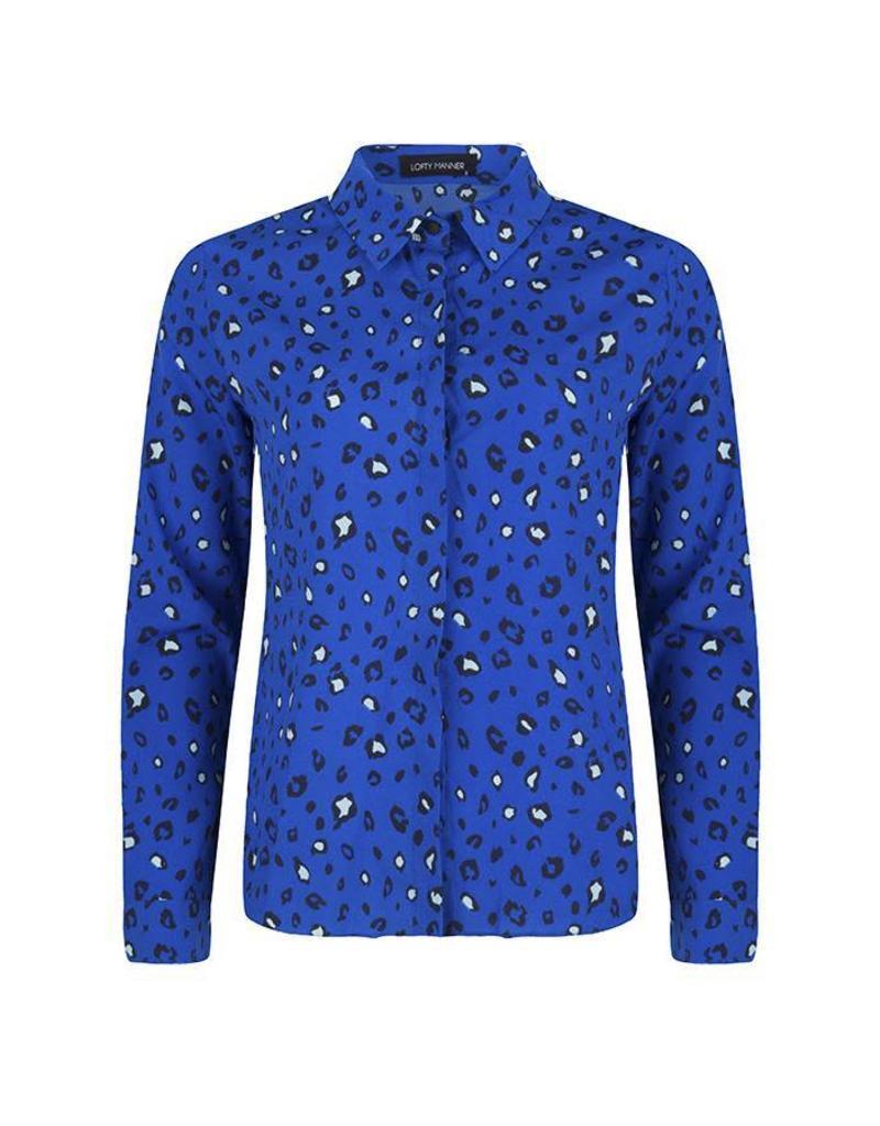 Lofty Manner Lofty Manner Blouse Velia Blue