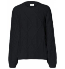 Pieces PC Lauretta Knit Black