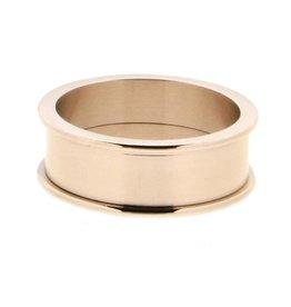 iXXXi Jewelry iXXXi Jewelry Basis Ring 8 mm Rosé
