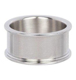 iXXXi Jewelry iXXXi Jewelry Basis Ring 10 mm Zilverkleurig