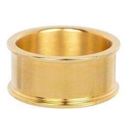 iXXXi Jewelry iXXXi Jewelry Basis Ring 10 mm Goudkleurig