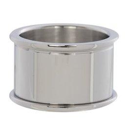 iXXXi Jewelry iXXXi Jewelry Basis Ring 12 mm Zilverkleurig