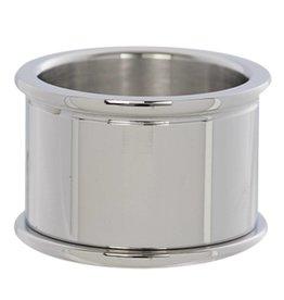 iXXXi Jewelry iXXXi Jewelry Basis Ring 14 mm Zilverkleurig