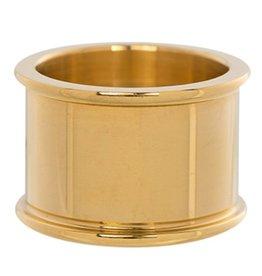 iXXXi Jewelry iXXXi Jewelry Basis Ring 14 mm Goudkleurig