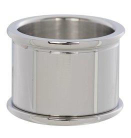 iXXXi Jewelry iXXXi Jewelry Basis Ring 16 mm Zilverkleurig