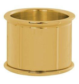 iXXXi Jewelry iXXXi Jewelry Basis Ring 16 mm Goudkleurig