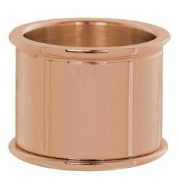 iXXXi Jewelry iXXXi Jewelry Basis Ring 16 mm Rosé