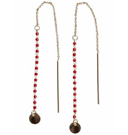 Pieces PC Selina Earrings Gold Color