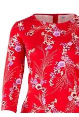 Saint Tropez Saint Tropez T6521 Red Love Jersey Dress