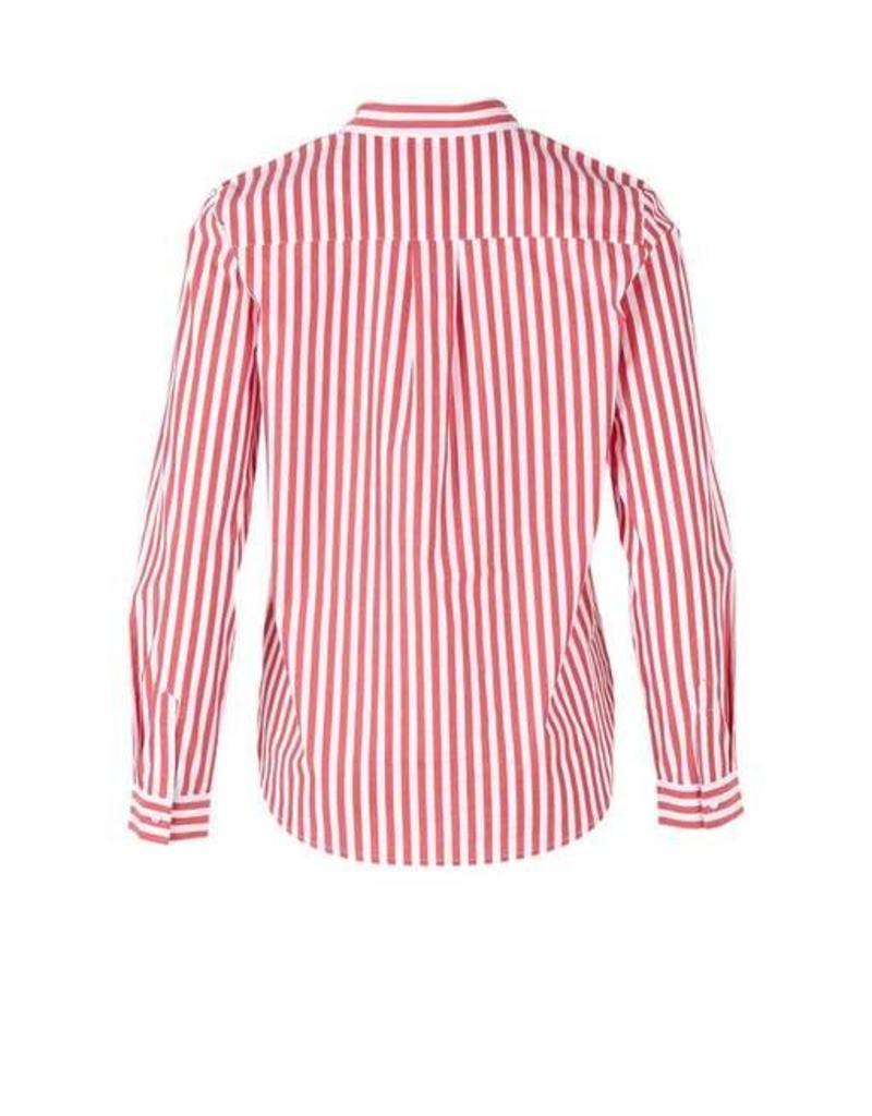 Saint Tropez Saint Tropez T1261 Shirt Striped Red