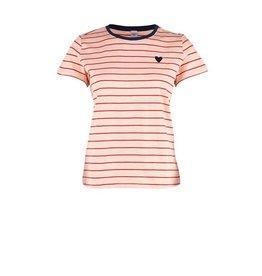 Saint Tropez Saint Tropez Organic Cotton T-Shirt Light Pink