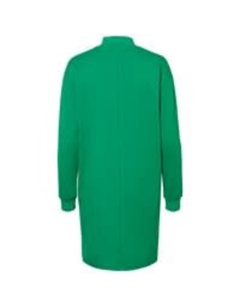 Noisy May Noisy May NMCarla Oversided L/S Dress Fern Green