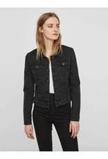 Noisy May NM Debra Black Wash Denim Jacket