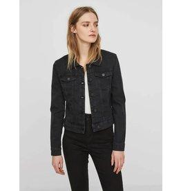 Noisy May NM Debra Black Wash Denim Jacket