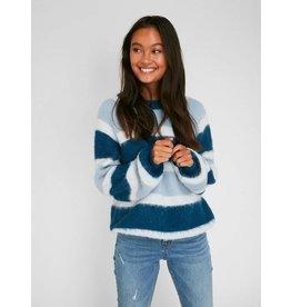 Pieces PC Bippa Wool Knit Dusty Blue