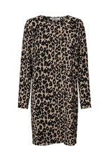 Pieces PC Sibi Sweat Dress Leopard