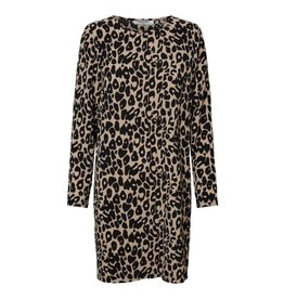 Pieces PC Sibi Sweat Dress Leopard