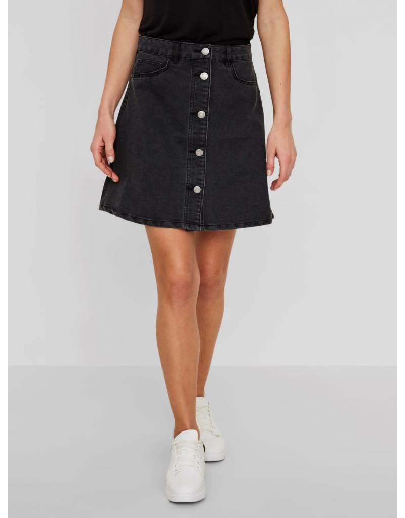 8ac9de33c45c Noisy May Short Denim Button Through Skater Skirt