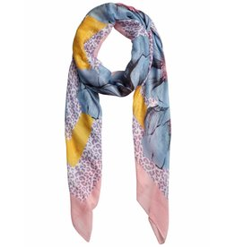 Pieces PC Simone Long Scarf Candy Pink