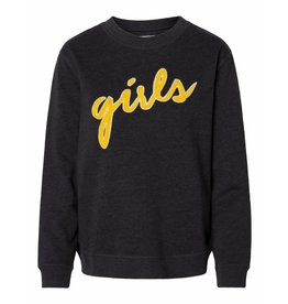 Pieces PC Lollie Girls Sweater Dark Grey