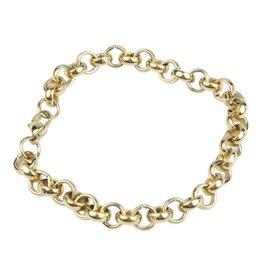 Kalli Kalli Chain Bracelet 2522 Jasseron Goudkleurig