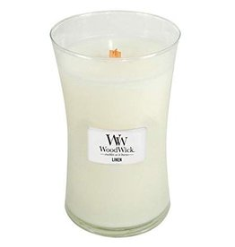 WoodWick Woodwick Large Candle Linen