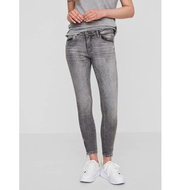 Noisy May Noisy May Kimmy NW Ankle Zip Jeans Light Grey