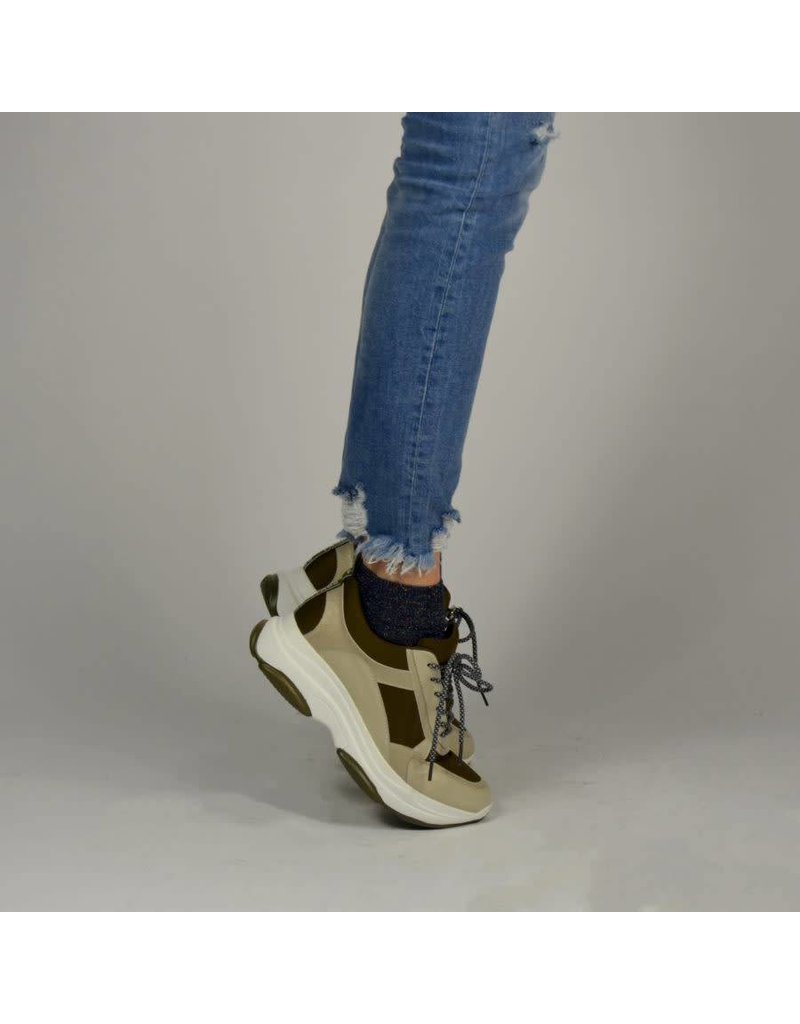 Fabs Shoes Fabs Dad Sneaker Champagne