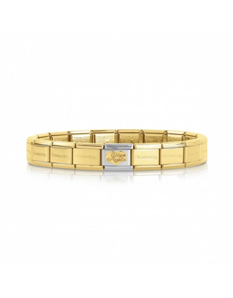 Nomination Nomination Classic Bracelet My Angel Goudkleurig