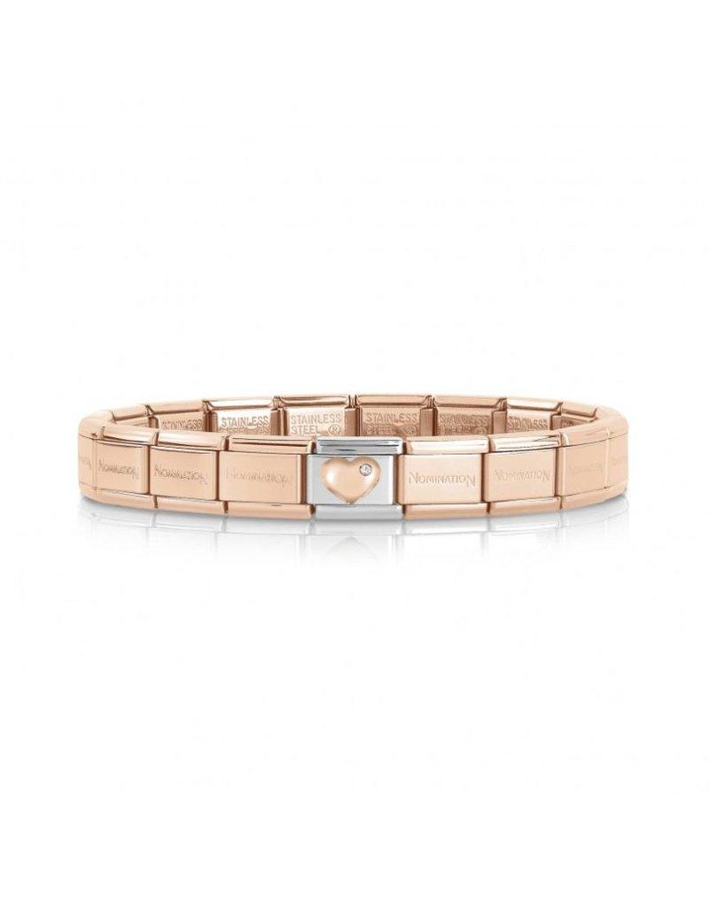 Nomination Nomination Bracelet Heart Rosé