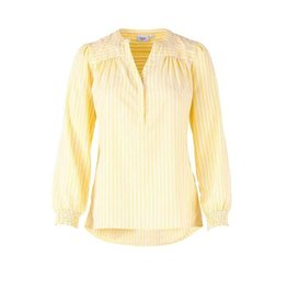 Saint Tropez Saint Tropez T1080 Candy Stripe P Shirt Yellow