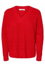 Pieces Pieces PC Salia Knit Red