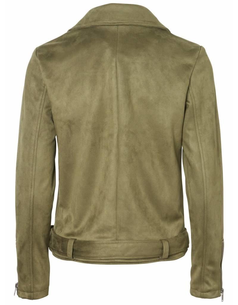 Noisy May Noisy May NMChrizzy L/S Jacket Olive Night