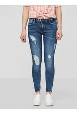 Noisy May Noisy May Kimmy NW Ankle Zip Jeans Medium Blue