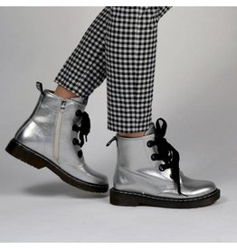 Fabs Shoes Fabs Boots Zilver