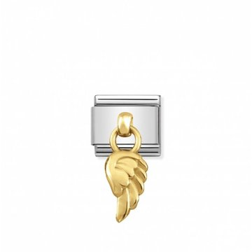 Nomination Nomination - 031800/06 Charms Wing 18k Gold
