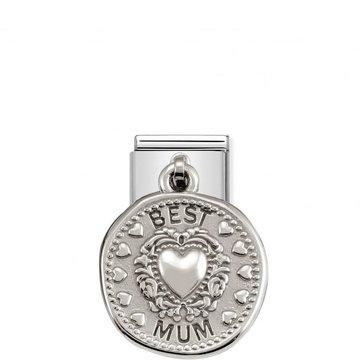 Nomination Nomination - 331804/12 Charms Wishes Best Mum