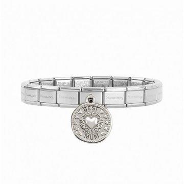 Nomination Nomination Bracelet Best Mum Zilverkleurig