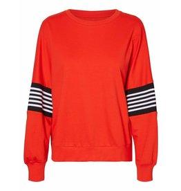 Noisy May Noisy May NM Poppa Sweater Red Sugar