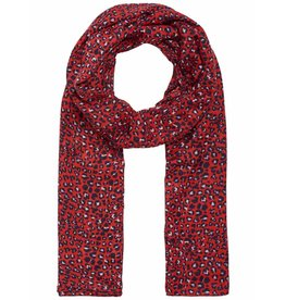 Pieces Pieces Bertrud Long Scarf High Risk Red