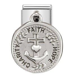 Nomination Nomination - 331804/18 Charm Wishes Charity Faith Hope
