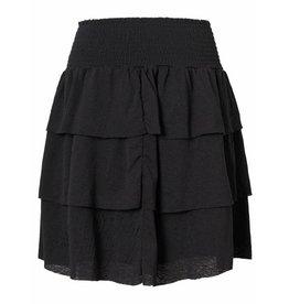 Pieces Pieces PC Bessie Short Skirt Black